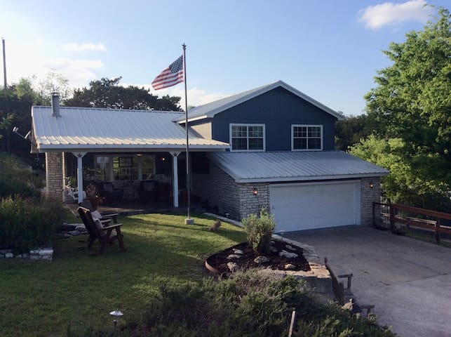 Charming Hill Country Home on 2.5 Acres