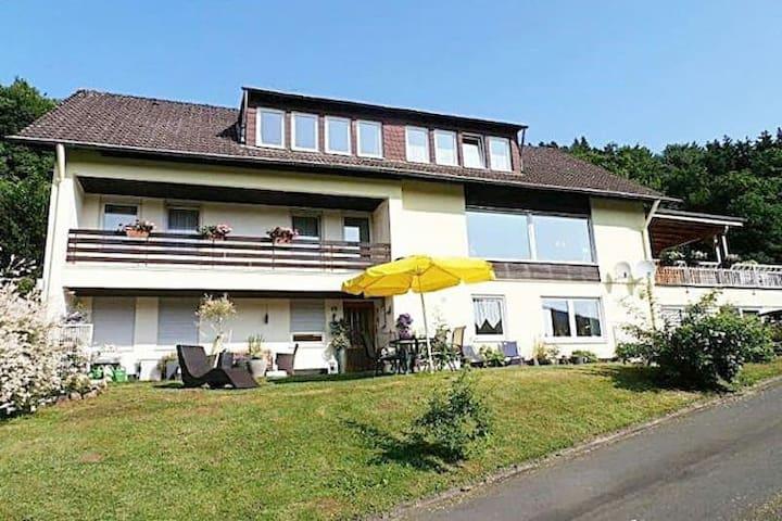 Der Eifeler Sonnenhof - Dorfblick - Birresborn - Appartement