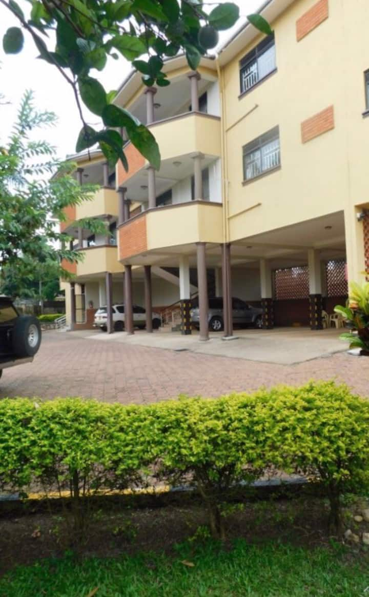 One private bedroom and bath Near Entebbe Airport