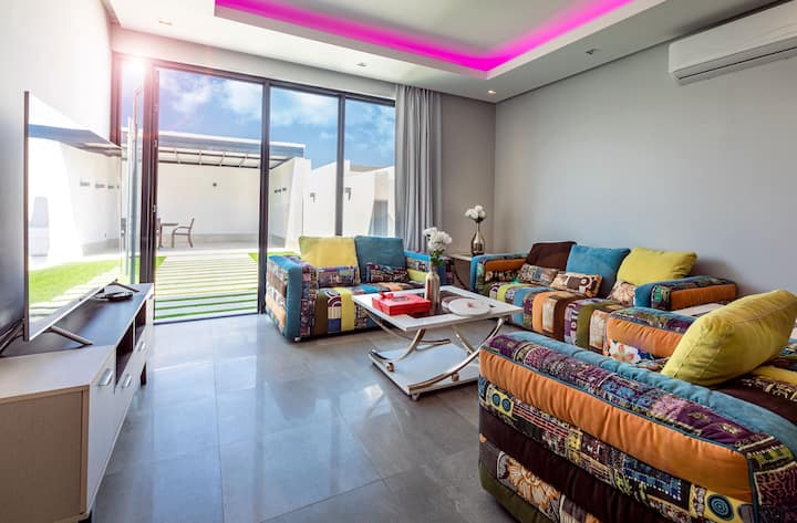 Style rooftop apartment