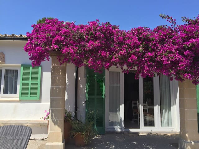 Lovely private villa near the beach - C'an Singala