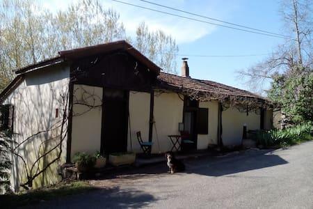 Charmante cottage/bergwoning nabij leuk Frans dorp - Monteils - Stuga