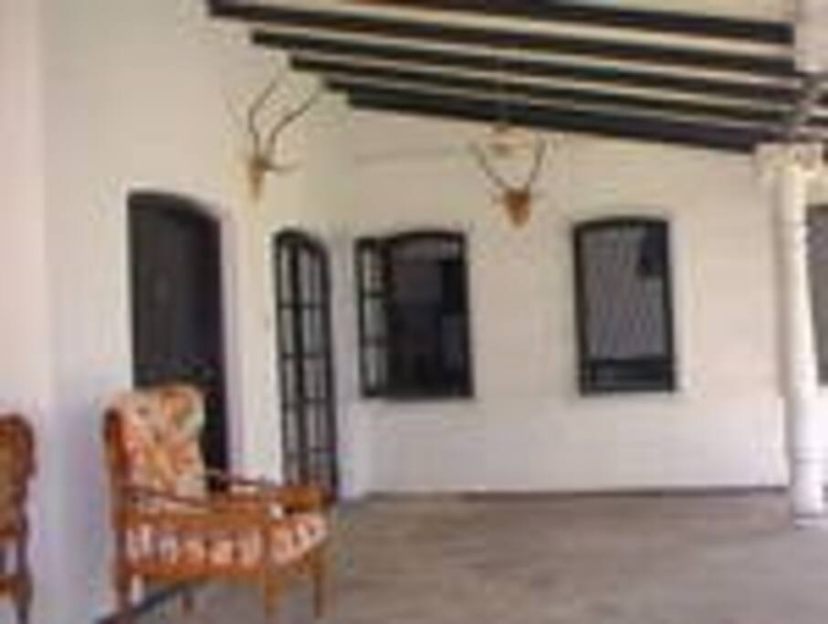outside the bed Room - Veranda area
