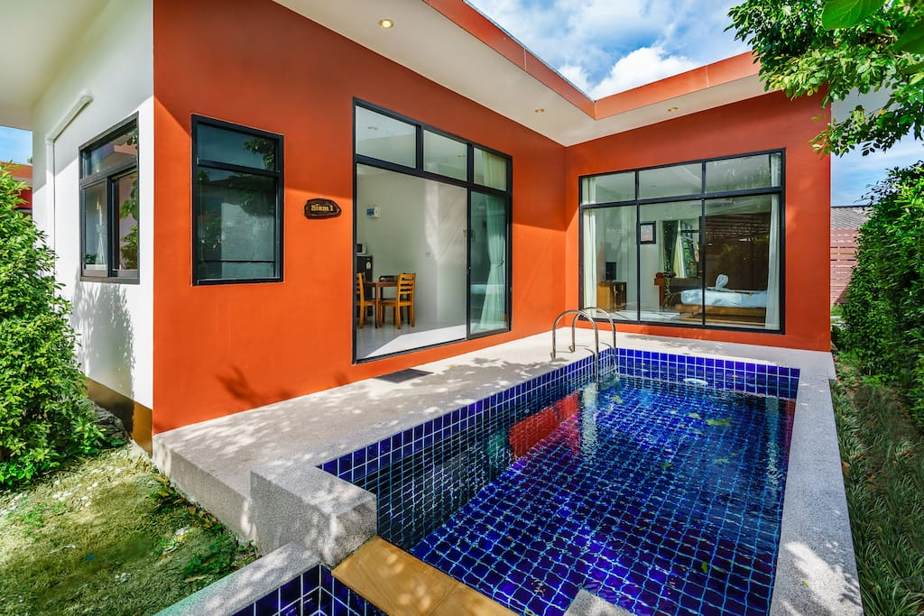 2 Bedroom Siam Villa with private pool.