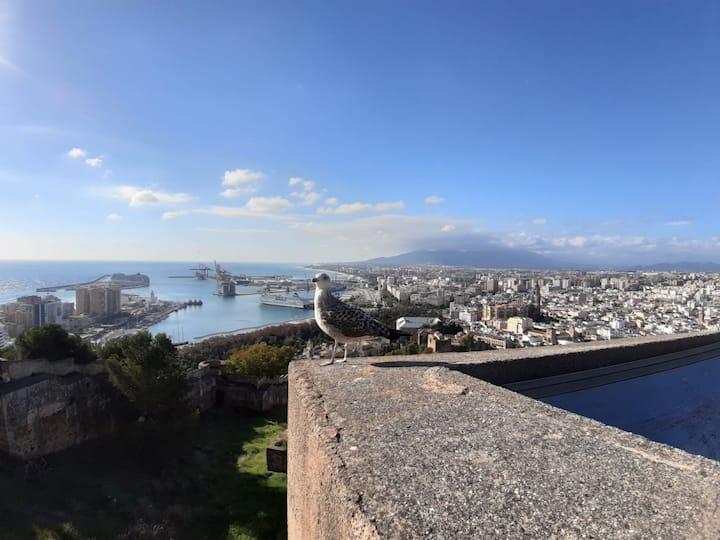 Gibralfaro viewpoint