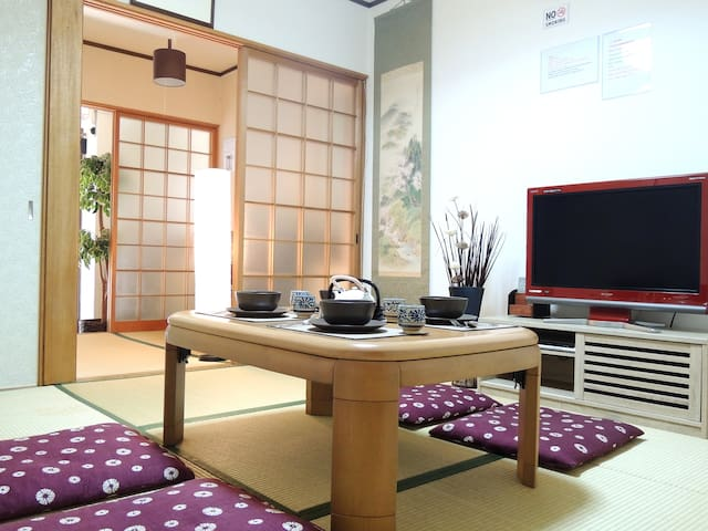 Tradition 2story house:4min Namba 6min Shinsaibasi