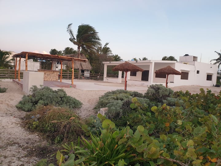 Beach front Telchac House