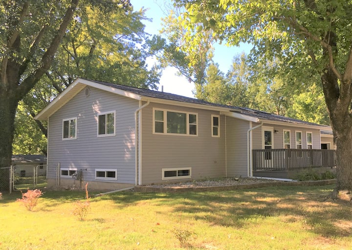 Lisa's Hewitt house