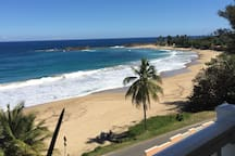 Panoramic View of Atlantic  Ocean From My Balcony