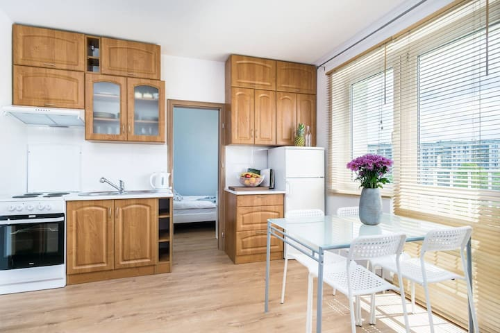 Homely apartment near the sea