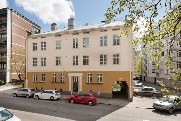 A spacious apartment at Turku center