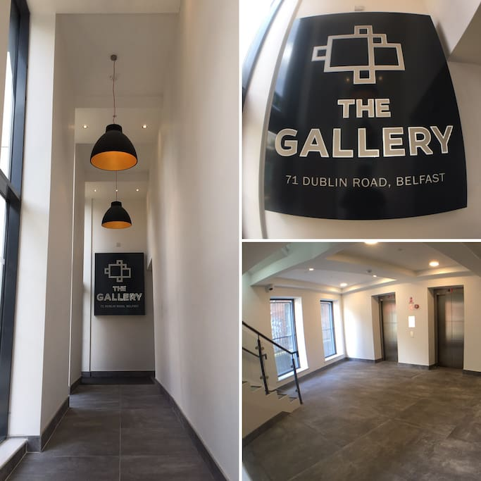 The Gallery's foyer and entrance hall