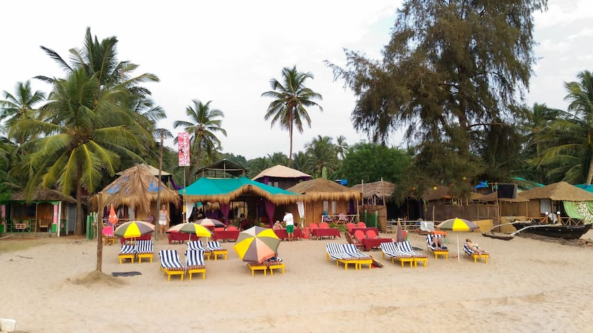 Front Hut with full Sea View @ Agonda Beach