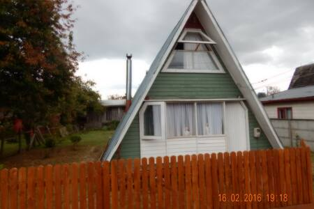 Cabaña Rústica y patio, Grupos grandes o pequeños. - Kisház