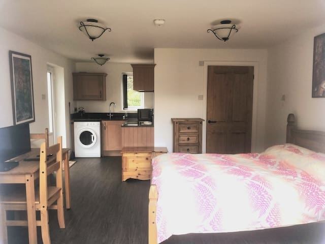 New self-contained (double) guest suite