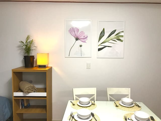 [NEW]Large Home in Shinchon, FREE wifi EGG - Seodaemun-gu - Appartement