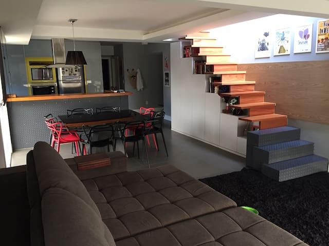 Cobertura duplex próxima ao centro - Blumenau - Apartment