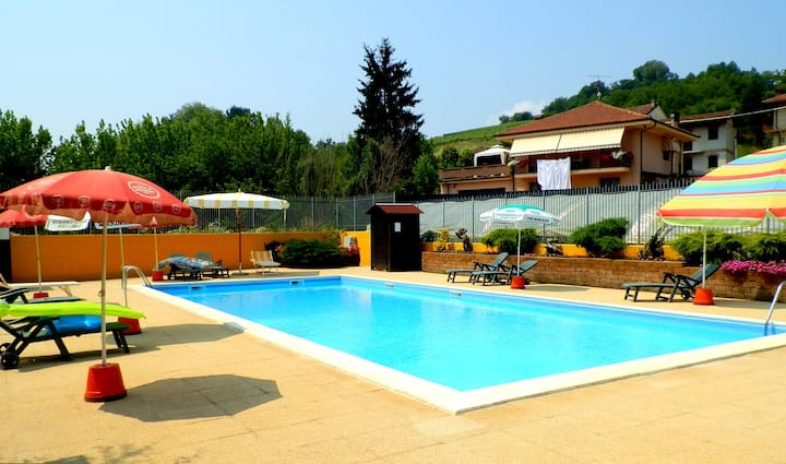 Apartment with 2 bedrooms in San Matteo, with shared pool, enclosed garden and WiFi