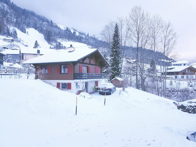 Charming Swiss chalet with amazing view over lake - Emmetten