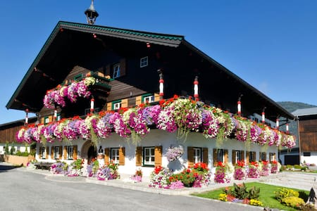 Urlaub am Bauernhof Thomanhof - Saalfelden am Steinernen Meer - Betjent leilighet
