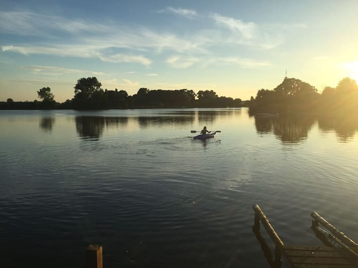 Luxury lakeview villa Haarlem-Amsterdam