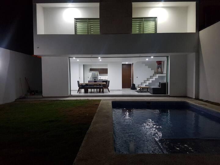 Increíble casa en Nuevo Vallarta