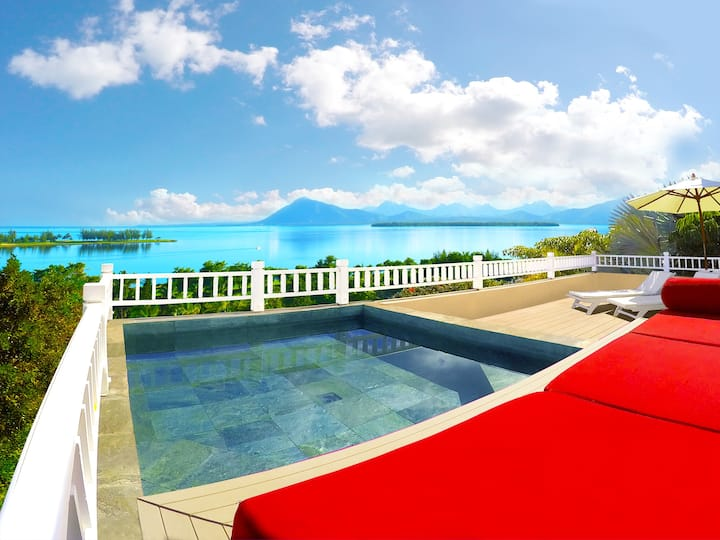 ❤️ Lagoon & Golf View with Pool Plunge on Le Morne