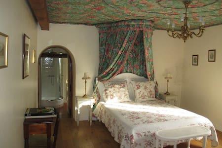 Chambre La Tonnelle au Manoir des Pelies - Grand-Vabre - Bed & Breakfast