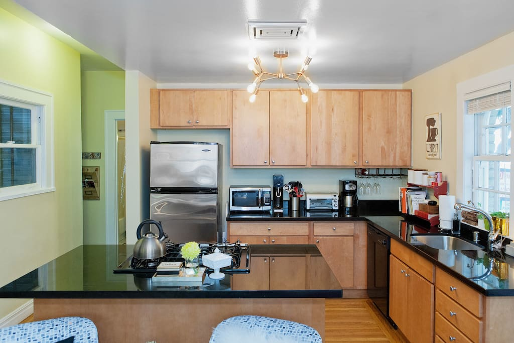 Remodeled kitchen w/ tons of amenities.