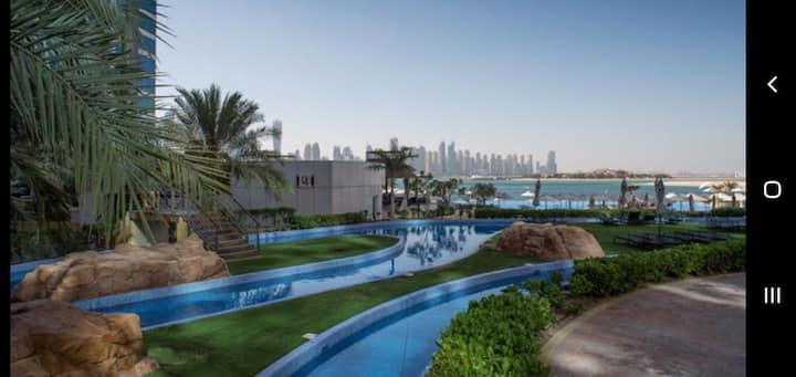 Oceana Flat 2 Master BR direct beach and pool.