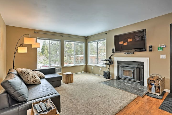 NEW! 2BR Truckee Condo, Walk to Tahoe Donner Ski