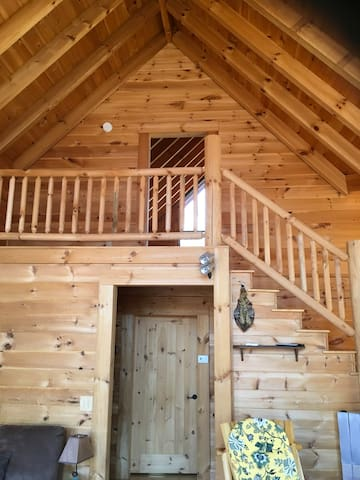 East Tennessee Large Mountain Log Cabin - Elizabethton - House