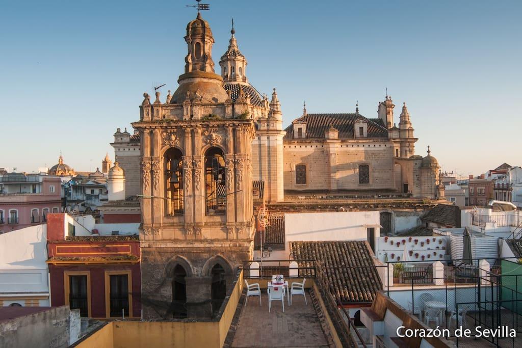 En el corazón de Sevilla...