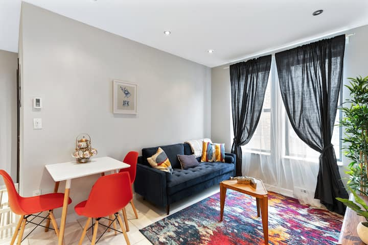 Brand new 3BR apartment close to Central Park