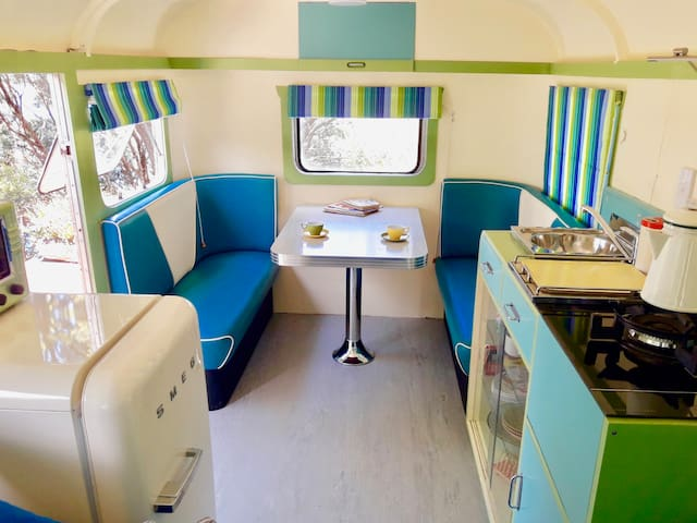 Genuine 1940's caravan - October discount offer