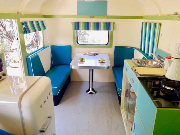 Willis - A genuine 1940's caravan