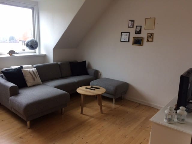 Cosy 3 room apartment with a view - Aarhus - Byt
