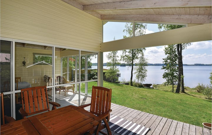 Awesome home in Timmersdala with Sauna, WiFi and 2 Bedrooms