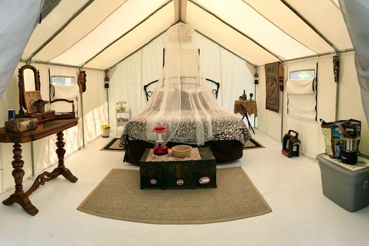 Jock our Safari Tent;  just for the two of you