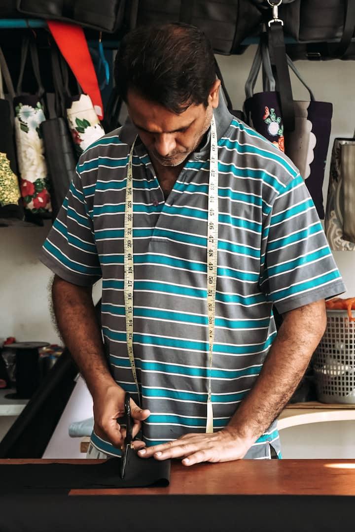 Ashfaq preparing for guests to arrive