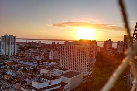 Suíte ventilada no centro de Belém - Belém - Lejlighed