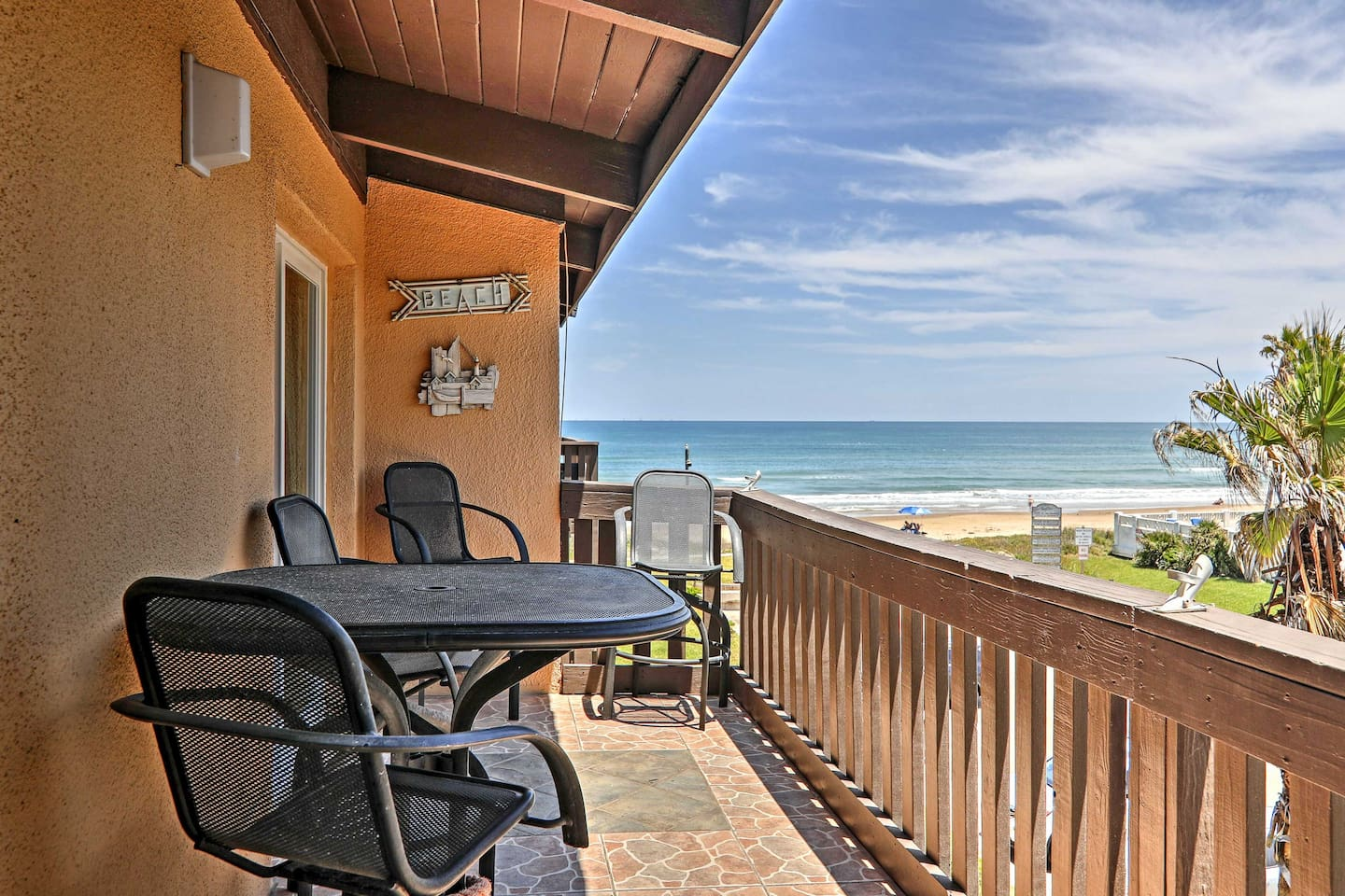 An unbeatable beachfront condo awaits at this South Padre Island vacation rental!