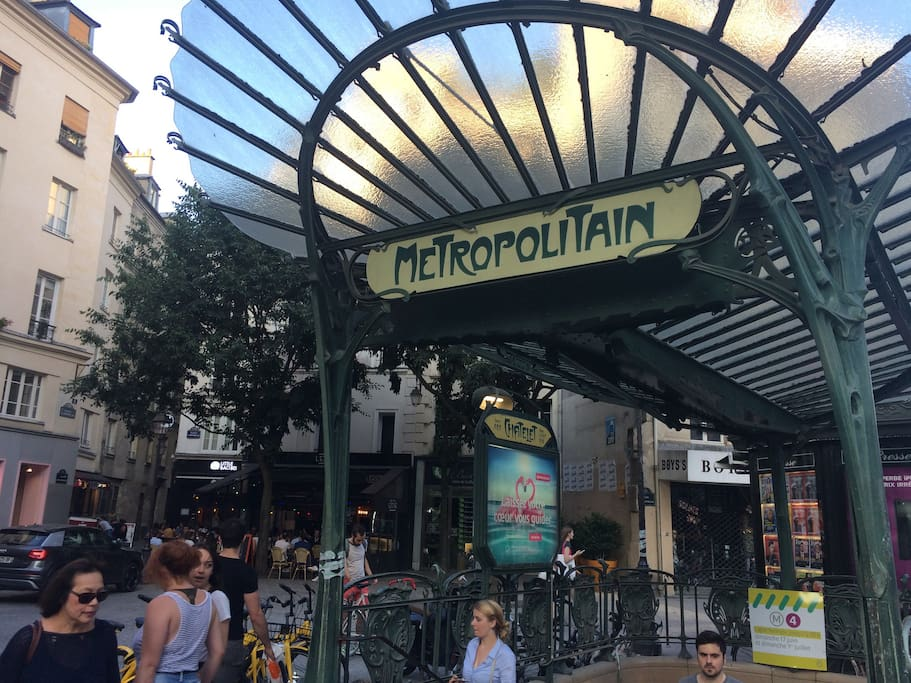 Chatelet Station