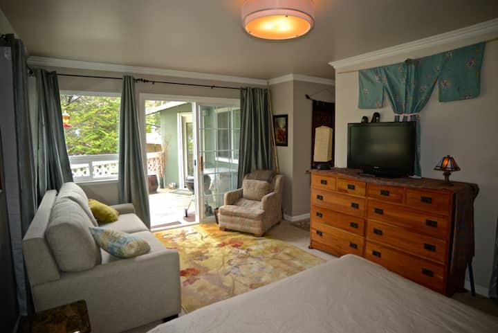 Spacious  Studio Bedroom w/Bath, 2d min. 2 per max