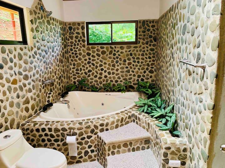 Casa de piedras naturales