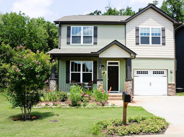 Charming, new home 1 mile from Furman University