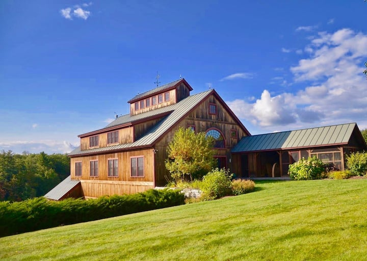 Luxury Barn At Blue Forest Farm Estate!