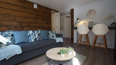 Appartement avec jardin dans village provençal
