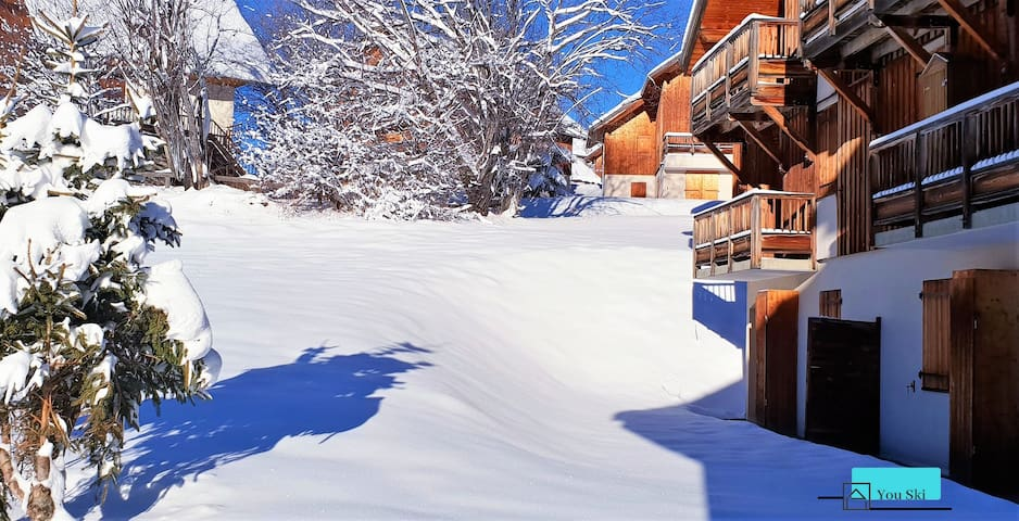 A14 - Logement 5 pers. Front de neige