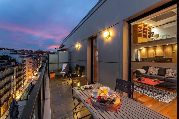 Gran Duplex Centro A/C | Terraza | Parkingopcional